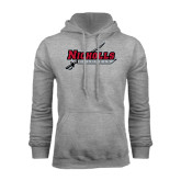 Grey Fleece Hood-Nicholls Colonels-Sword