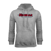 Grey Fleece Hood-Nicholls Colonels