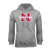 Grey Fleece Hood-Alumni N