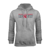Grey Fleece Hood-Renew Flat