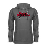 Adidas Climawarm Charcoal Team Issue Hoodie-Geaux Colonels-Sword