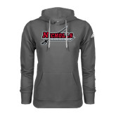 Adidas Climawarm Charcoal Team Issue Hoodie-Nicholls Colonels-Sword