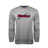 State Champion Grey Fleece Crew-Nicholls Colonels-Sword