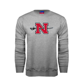 State Champion Grey Fleece Crew-N-Sword