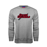 State Champion Grey Fleece Crew-Geaux Colonels-Sword