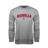 State Champion Grey Fleece Crew-Nicholls University