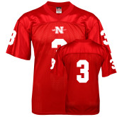 State Replica Red Adult Football Jersey-#3