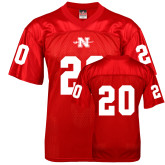State Replica Red Adult Football Jersey-#20