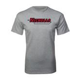 Grey T Shirt-Nicholls Colonels