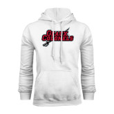 White Fleece Hood-Geaux Colonels-Sword