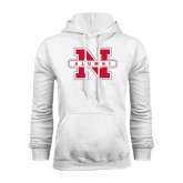 White Fleece Hood-Alumni N