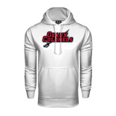 Under Armour White Performance Sweats Team Hood-Geaux Colonels-Sword