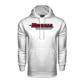 Under Armour White Performance Sweats Team Hood-Nicholls Colonels