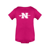 Fuchsia Infant Onesie-Official Logo