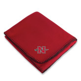 Red Arctic Fleece Blanket-Official Logo