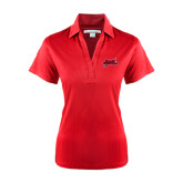 Ladies Red Performance Fine Jacquard Polo-Geaux Colonels-Sword