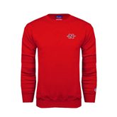 Champion Red Fleece Crew-N-Sword