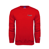 Champion Red Fleece Crew-Nicholls Colonels