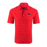 Red Horizontal Textured Polo-Geaux Colonels-Sword