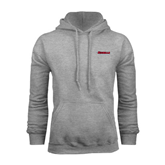Champion Grey Fleece Hood-Nicholls Colonels