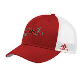 Adidas Red Structured Adjustable Hat-Geaux Colonels-Sword