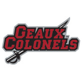 Super Large Magnet-Geaux Colonels-Sword, 24 in W
