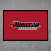Full Color Indoor Floor Mat-Nicholls Colonels