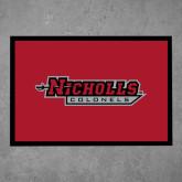 Full Color Indoor Floor Mat-Nicholls Colonels
