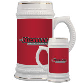 Full Color Decorative Ceramic Mug 22oz-Nicholls Colonels