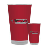 Full Color Glass 17oz-Nicholls Colonels