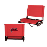 Stadium Chair Red-Geaux Colonels-Sword