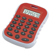 Red Large Calculator-Nicholls Colonels