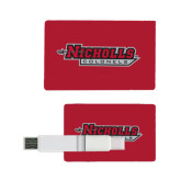 Card USB Drive 4GB-Nicholls Colonels