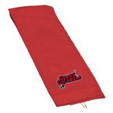 Red Golf Towel-Geaux Colonels-Sword