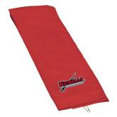Red Golf Towel-Nicholls Colonels-Sword