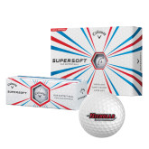 Callaway Supersoft Golf Balls 12/pkg-Nicholls Colonels