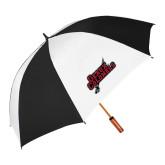 62 Inch Black/White Umbrella-Geaux Colonels-Sword