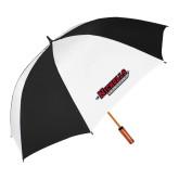 62 Inch Black/White Umbrella-Nicholls Colonels