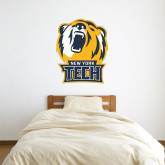 3 ft x 3 ft Fan WallSkinz-New York Tech Bear Head