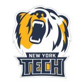 Medium Decal-New York Tech Bear Head