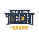 Medium Decal-New York Tech Bears