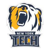 Large Decal-New York Tech Bear Head