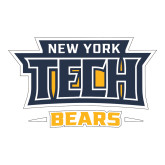 Large Decal-New York Tech Bears