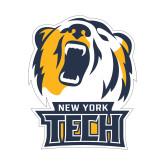 Small Decal-New York Tech Bear Head