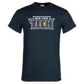 Navy T Shirt-New York Tech