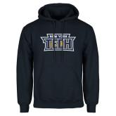 Navy Fleece Hoodie-New York Tech