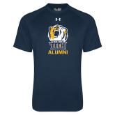Under Armour Navy Tech Tee-Alumni