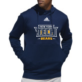 Adidas Navy Team Issue Hoodie-New York Tech Bears