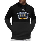 Adidas Black Team Issue Hoodie-New York Tech Bears