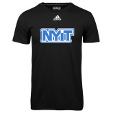 Adidas Climalite Black Ultimate Performance Tee-NYIT